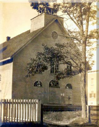 Mission Chapel, post 1905