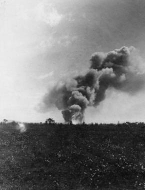 Dragon explosion 1917
