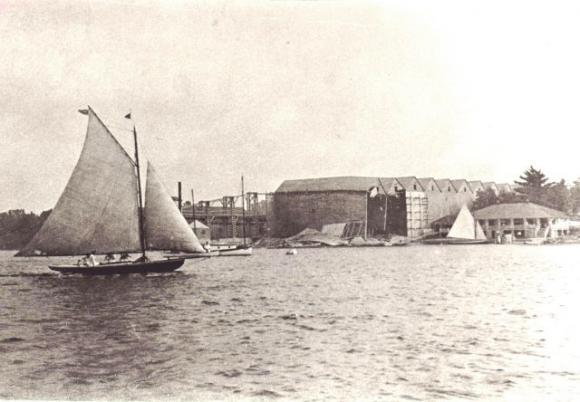 Ice House and yacht club