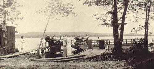 The Como-Oka Ferry